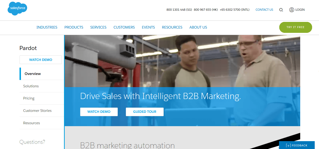 B2B-automation-marketing-tool